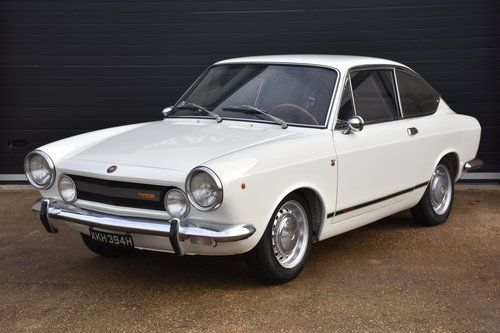 1970 Fiat 850 Coupe For Sale 10995 Black Interior Abarth