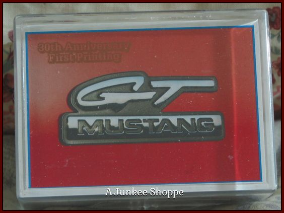 GT MUSTANG 1994 PYQCC 30th Anniversary Of The Ford Pony Car Trading Cards   Junk0868  http://ajunkeeshoppe.blogspot.com/