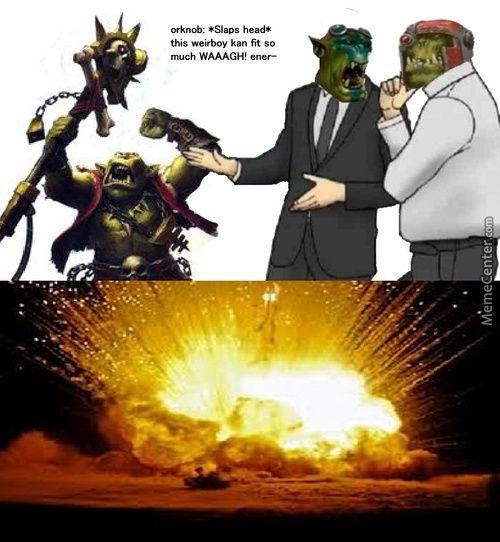 Vysledek Obrazku Pro Ork Memes Warhammer 40k Memes Warhammer
