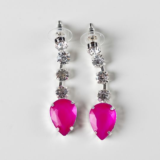 These earrings are a real talking point. Wear them if you love to stand out at parties.