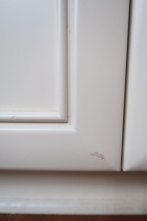 Kitchen Cabinets Chipped Or Baseboards Peeling Here S What To Do