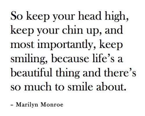 keep smiling :)