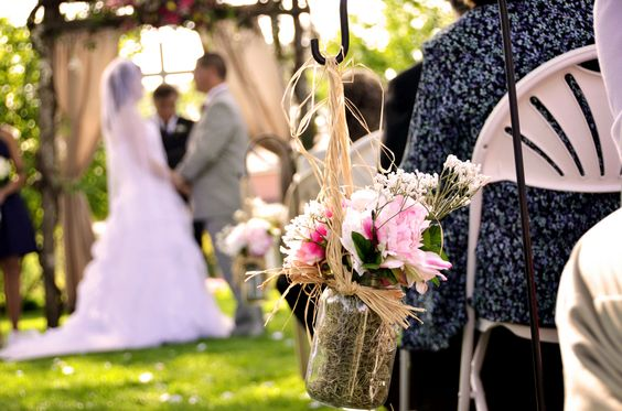 Wedding At 1812 Hitching Post