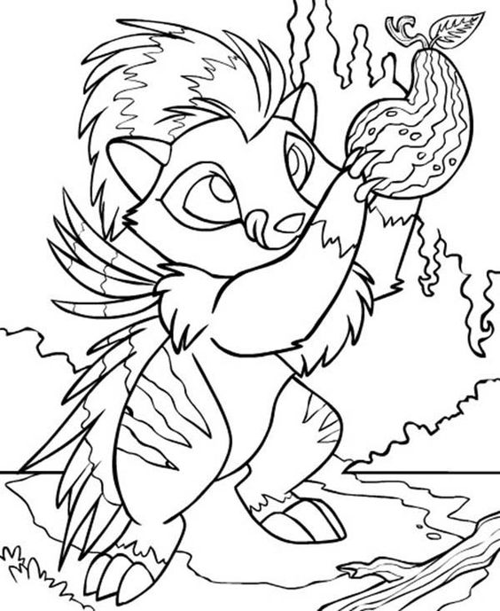 Neopets Picking Delicous Fruit Coloring Pages Bulk Color Fruit Coloring Pages Coloring Pages Coloring Pages For Kids