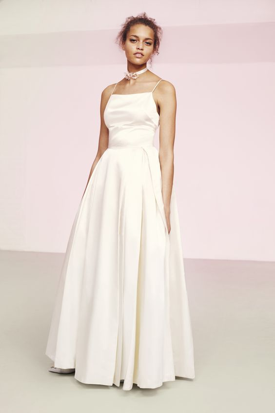 ASOS Bridal has finally launched for all your wedding wardrobe needs. This silky style is a dreamy option.