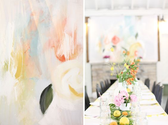 Gorgeous Baby Shower -beautiful palette