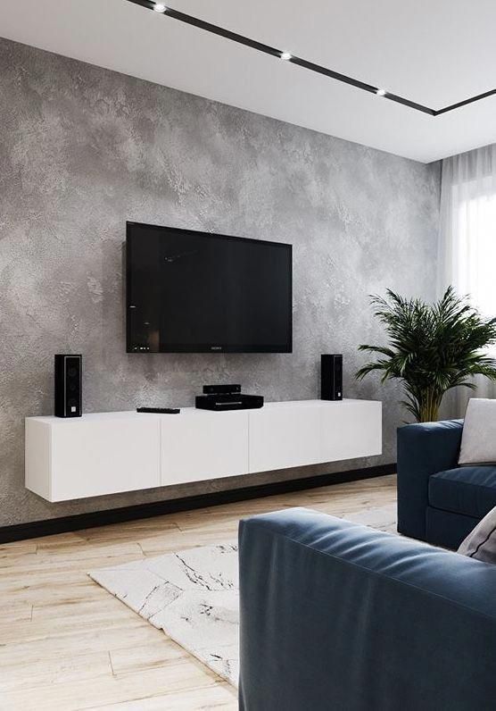 Tv Background Tv Wall Tv Background Wall Home Decoration Furniture Shelf Storage Cab Minimalist Living Room Living Room Decor Apartment Small Living Rooms
