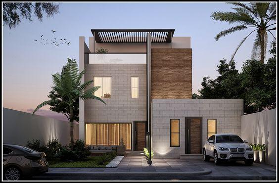 Thiết kế nhà phố hiện đại theo phong cách châu âu