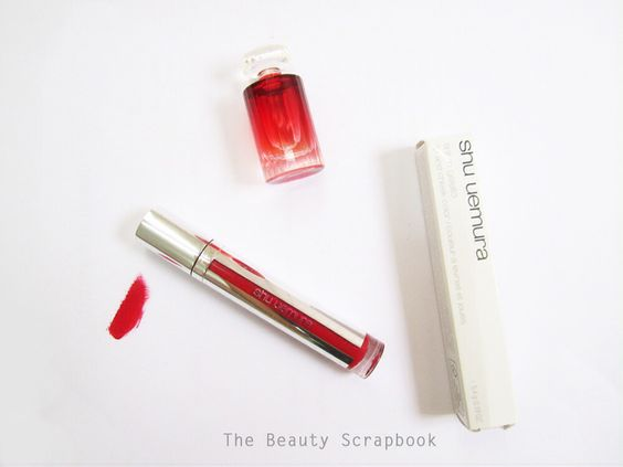 NOW on blog! Reviews: Shu Uemura Tint In Gelato in shade AT01 Cassis Delight