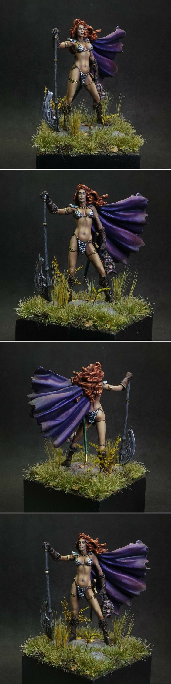 Nocturna Huntress - Gold in Fantasy Large at Capital Palette 2015