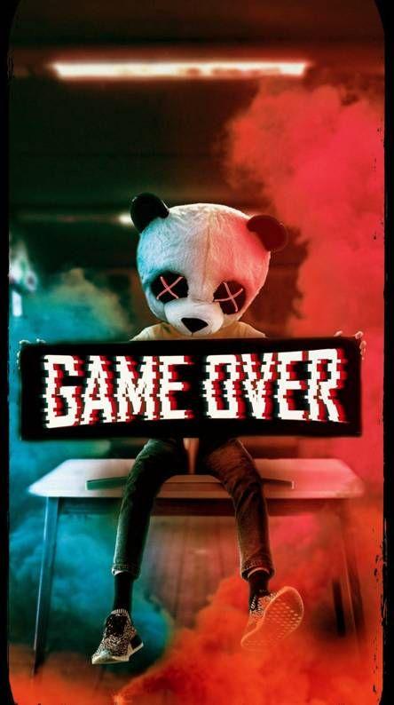 Game Over Panda Wallpaper By Hamhawk46 0f Free On Zedge Panda Art Panda Wallpapers Glitch Wallpaper