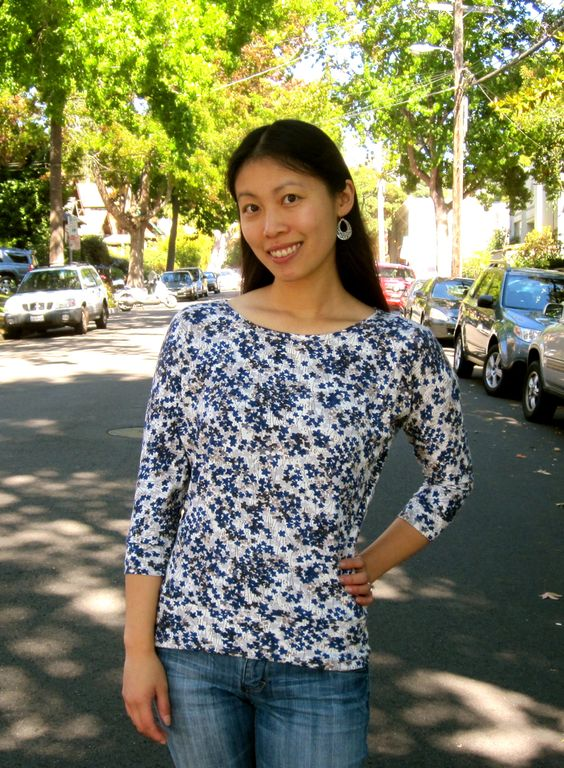 Cation Designs: Free Sewing Pattern: Dolman Sleeve Top | Projects to ...