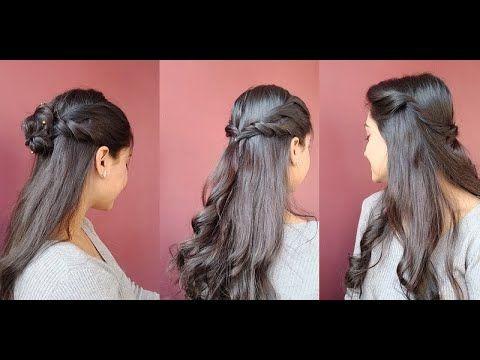 3 Most Easy 1min Hairstyles For Beginners Step By Step Asmita Youtube In 2020 Hair Styles Hair Hacks Easy Hairstyles