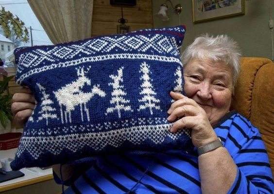 So Festive Grandma is drunk again.