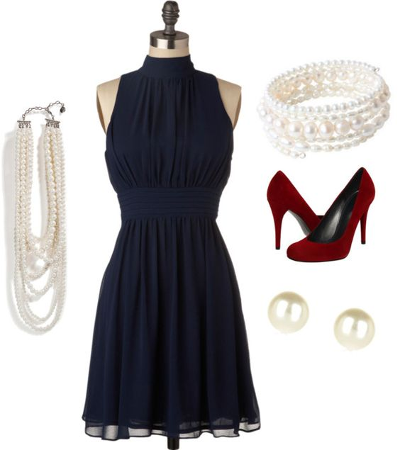 """All-American Class"" by beautifulthings15 ❤ liked on Polyvore"