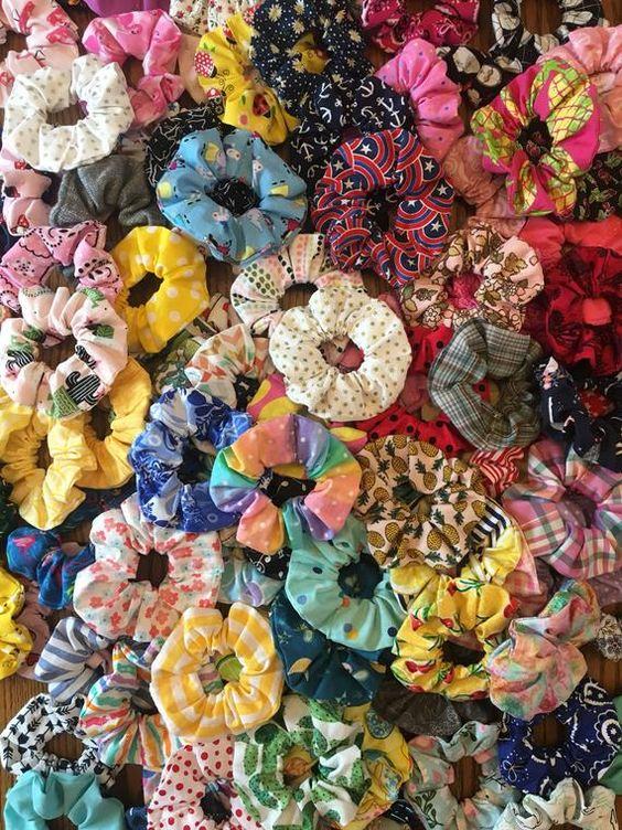 Make your own pack of scrunchies!