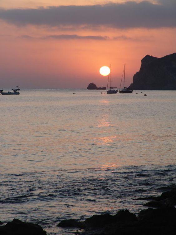 Javea bay at Sunrise