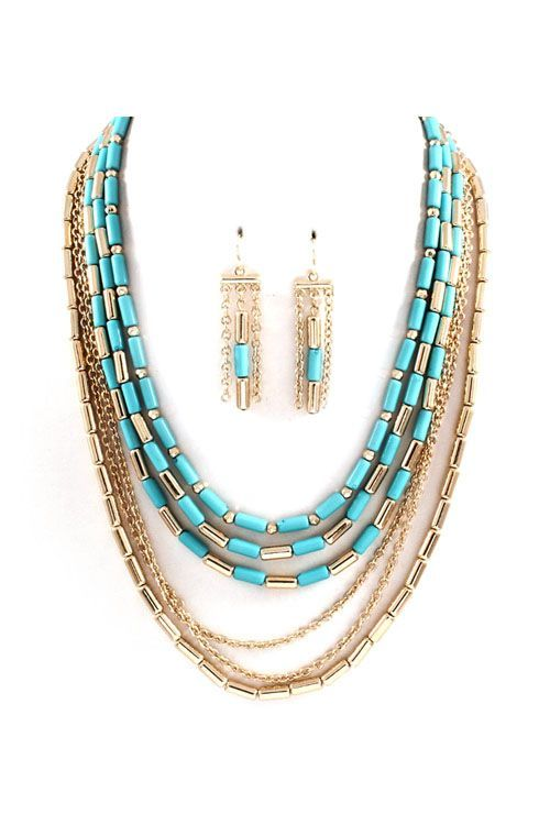 Turquoise Necklace: