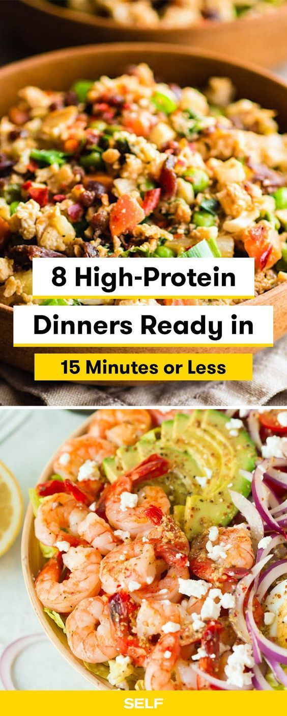 These Easy Healthy High Protein Recipes Use Your Favorite