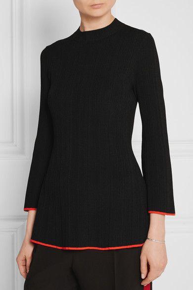 Proenza Schouler | Ribbed-knit top | NET-A-PORTER.COM