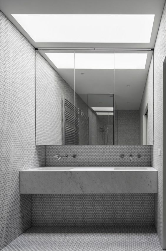 Modern Victorian Gets Addition And Renovation Modern Victorian Bathroom Inspiration And