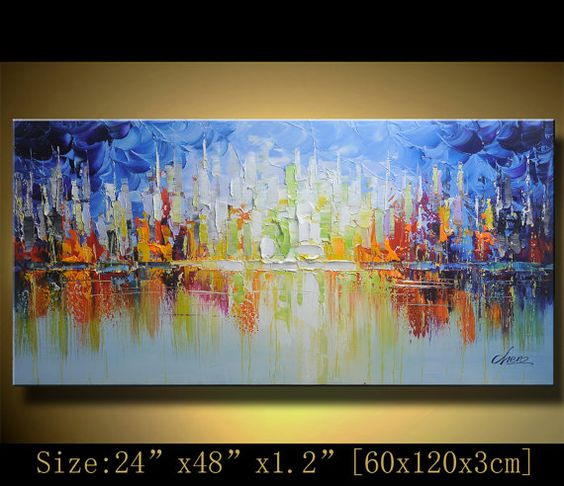 Original Acrylic Abstract Painting Abstract Paintings