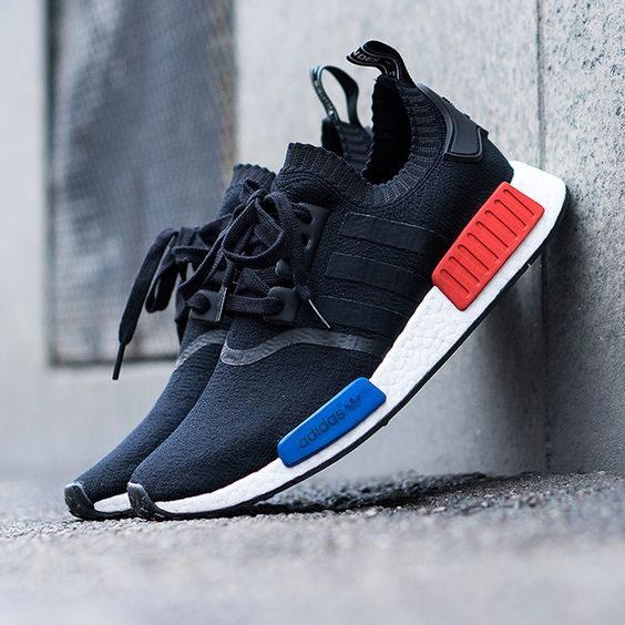 Adidas Nmd Noir Bleu Rouge