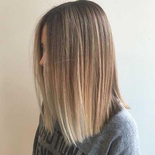 Lange Gerade Bob Haarstille 2019 Fur Damen Mode Vorabend Damen Gerade Haarstille La Straight Bob Hairstyles Haircuts For Medium Hair Straight Hairstyles