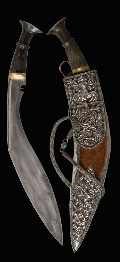 Kukri Kothimora Dagger. Dated :19th century. Culture: Nepalese