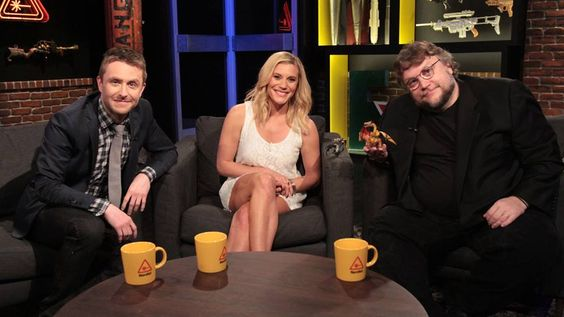 Director Guillermo del Toro appeared on @Nerdist Industries Industries with Chris Hardwick and Battlestar Galactica's Katee Sackhoff to chat about #PacificRim