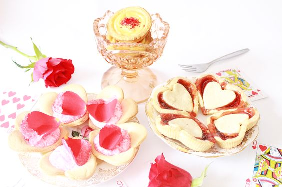 I Love Crafty: Queen of Hearts Trio of Tarts