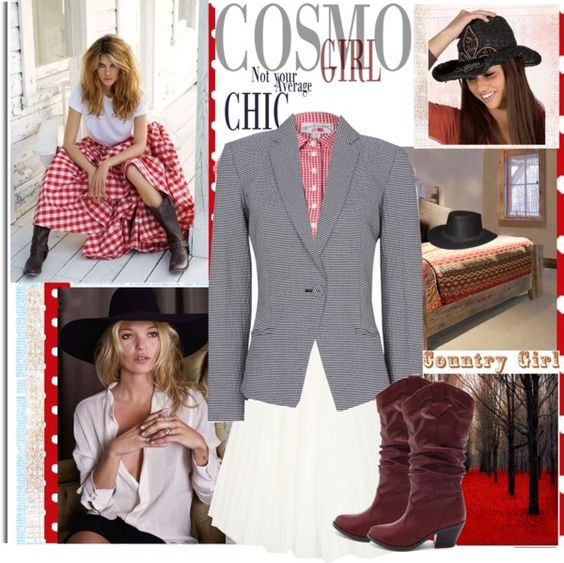 """""""In the Gingham Seersucker Zone (contest)"""" by lavendergal ❤ liked on Polyvore"""