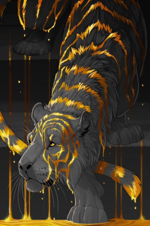 Molten Tiger by Butterhound:
