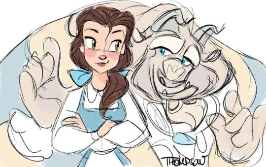 Belle and Beast | Disney's Beauty and the Beast | Steve Thompson:
