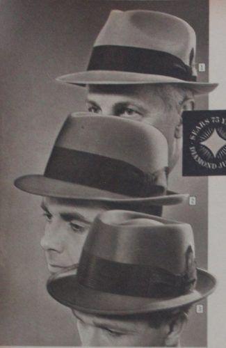 1960s - 70s Style Men's Hats