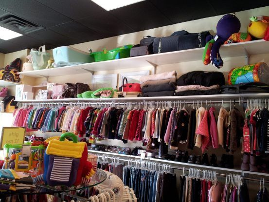 7 Questions to Ask Consignment Shops: which high-end clothing brands are carried, what is the age range, which ones sell toys like Thomas & Friends trains or equipment like Strollers, charity donation, what are the most popular items bought? #kids #style #parenting