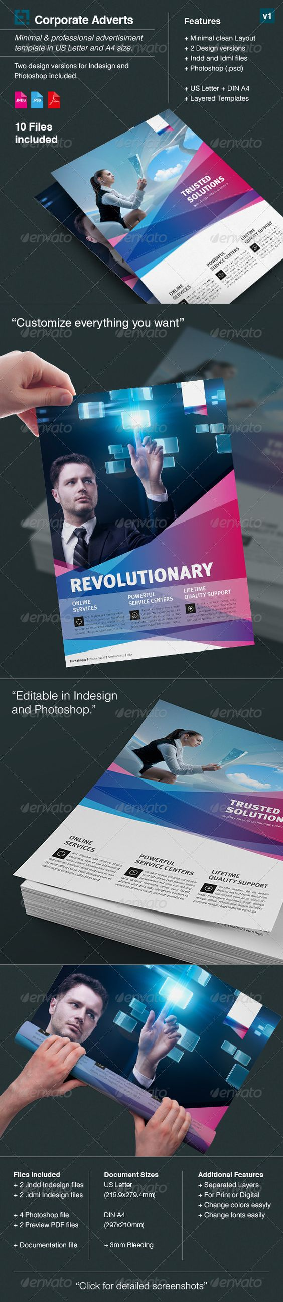 corporate flyer ad template us letter din a a well adobe corporate flyer ad template us letter din a4 get the source files for