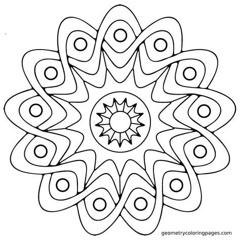 149 Dibujos Para Imprimir Colorear O Pintar Para Ninos Para Ninos Libro De Colores Dibujos Para Colorear Adultos Mandala Sencilla