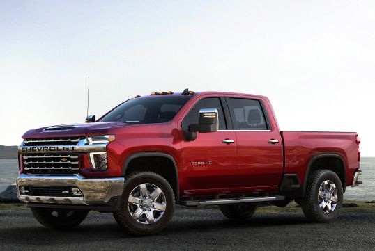 2020 Chevrolet Silverado 2500 Hd Ltz Crew Cab 2019 With Images