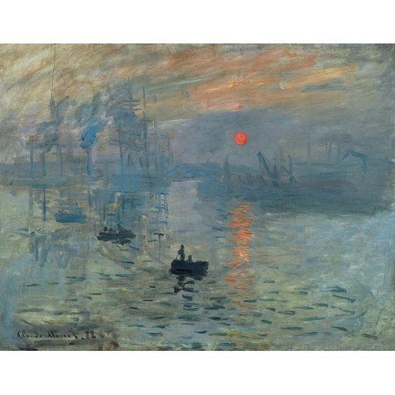 Impression Sunrise - Monet http://www.shopiart.com/en/claude-monet-oil-paintings/16-impression-sunrise.html