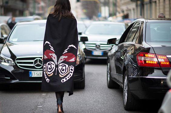 從秀場到街頭:Valentino 經典街拍特輯