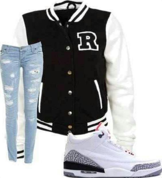 Cute outfit to wear to a basketball game
