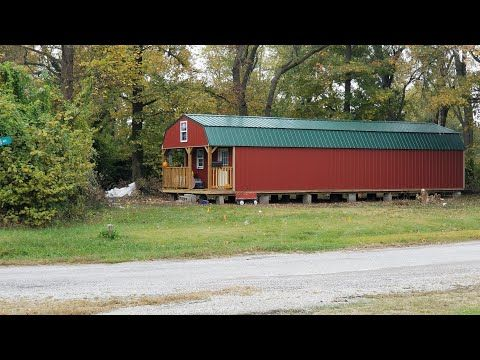 Derksen Shed To House Floor Plan 16x50 Youtube Shed Homes Narrow House Plans House Flooring