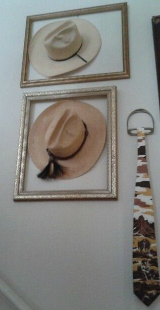 Hat wall: