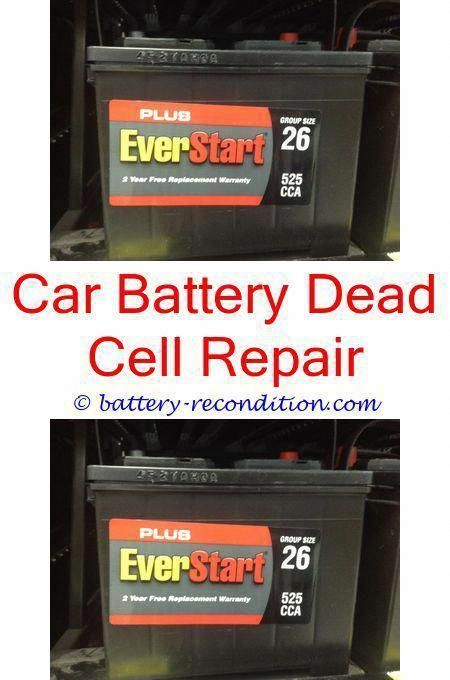 How To Restore A Battery Reconditioning Nicad Batteries Battery Reconditioning Business Fix It Dead Car Battery Battery Repair Recondition Batteries