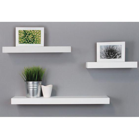 nexxt Design 3 Piece Maine Wall Shelf Set & Reviews   Wayfair