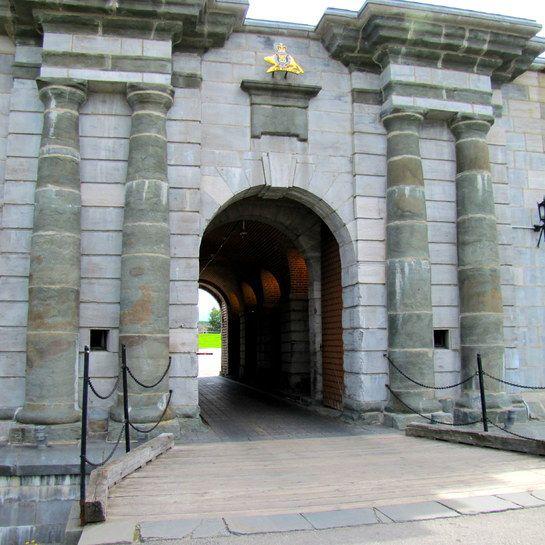 La porte Dalhousie à la citadelle de Québec.