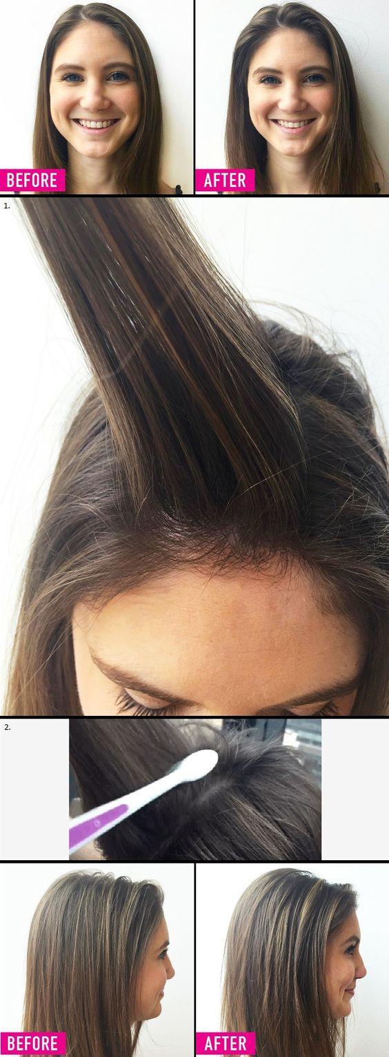 The Toothbrush Trick for Hair Volumizing