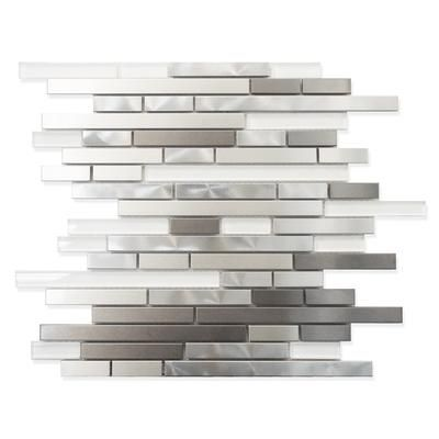 metal mosaic wall tiles products kitchens glass tiles steel wall tiles