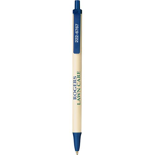 Customize a Bic Clic Stic Pen in Linen and Monaco Blue. Over 40 trim and barrel colors to choose from!